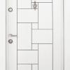 Блиндирана входна врата Т100 - Бяла