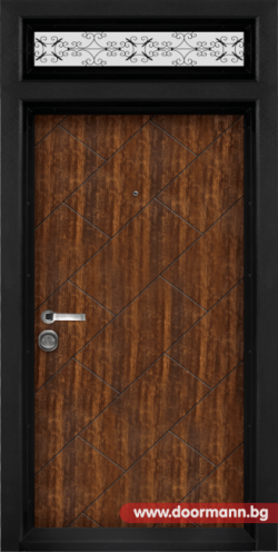 Еднокрила входна врата Т-904, цвят Сахара