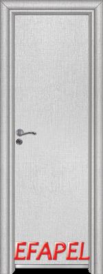 Алуминиева врата Ефапел - цвят Лен