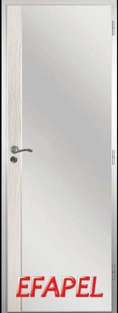 Алуминиева врата от серия Ефапел - цвят Бяла мура